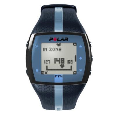 Polar FT4M Heart Rate Monitor, Blue & Black, 1 ea