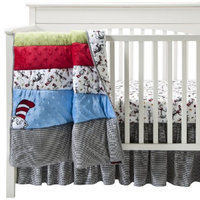 Trend Lab Dr Seuss Cat in the Hat 3Pc Bedding Set - Red by Lab