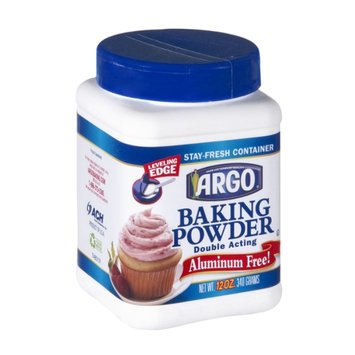 Argo Double Acting Aluminium Free Baking Powder