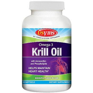 Omega-3 Krill Oil 300mg Softgels