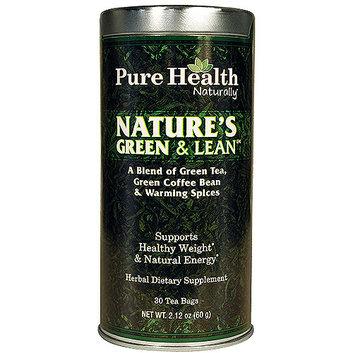 Pure Health Nature's Green & Lean Tea Herbal Dietary Supplement
