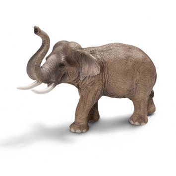 Schleich Asian Male Elephant Toy Animal