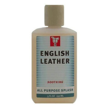 English Leather for Men 5.0 oz Soothing All Purpose Splash in Plastic Bottle