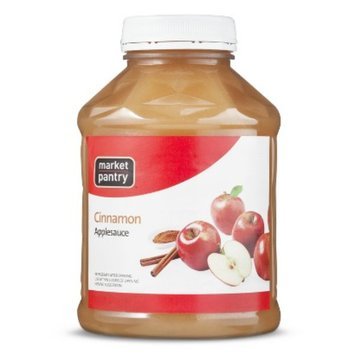 Market Pantry Cinnamon Applesauce 50-oz.