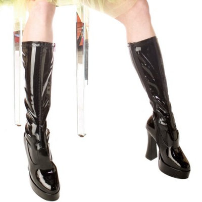Buy Seasons ChaCha Blk Adult Boots - 8.0