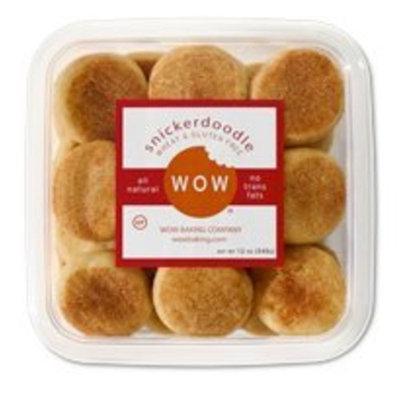 WOW Baking Company Gluten Free Cookies Tub - Snickerdoodle - 12 oz