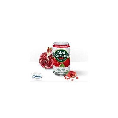 Hansen's Hansens BG14076 Hansens Pomegranate Diet Soda - 4x6Pack