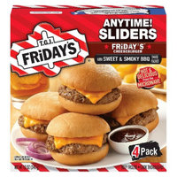 T.G.I. Friday's TGI Friday's Anytime Sliders American Classic Cheeseburgers 4-ct.