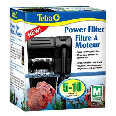 Tetra 26351 Second Nature Five to Ten Gallon Aquarium Power Filter