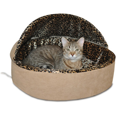 K & H Manufacturing Thermo-Kitty Bed Deluxe Hooded