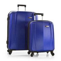 HEYS Viking Elite WIDEbody 2-piece (Metallic Blue) Lightweight Expandable Spinner Luggage Set