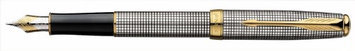 Parker Sonnet Fountain Pen Sterling Silver Cisele - Medium