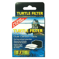Exo-Terra Exo TerraA Turtle Filter Fine Foam & Dual Carbon Pads