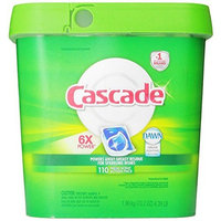 Cascade Actionpacs Dishwasher Detergent, Fresh Scent, 110 Count [Fresh Scent, 110 Count]