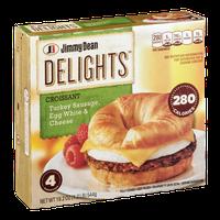 Jimmy Dean® Delights™ Croissant Sandwiches Turkey Sausage, Egg White & Cheese