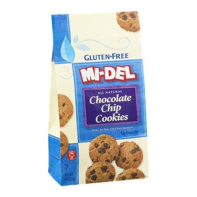 Mi-Del Gluten Free All Natural Chocolate Chip Cookies