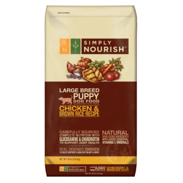 Simply Nourish Dog Food Large Breed Puppy