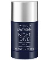 Davidoff Cool Water Nightdive Deodorant Stick, 2.4 oz