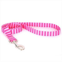 Yellow Dog Design Pink/Pink Stripes Lead