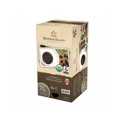 Reunion Island Extra Bold Fair Trade Organic French Roast Single Cup Pods