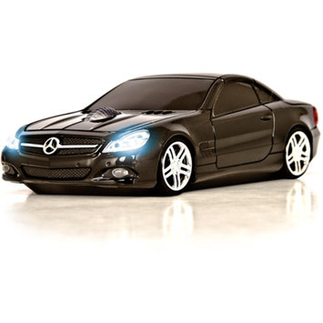 Road Mice Mercedes Benz SL550 Wireless Optical Mouse, Black