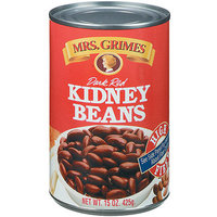 Mrs. Grimes Dark Red Kidney Beans