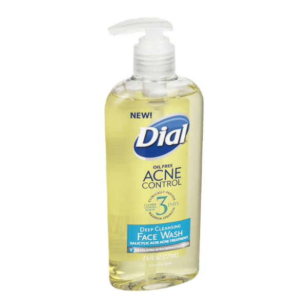 Dial® Oil Free Acne Control Face Wash