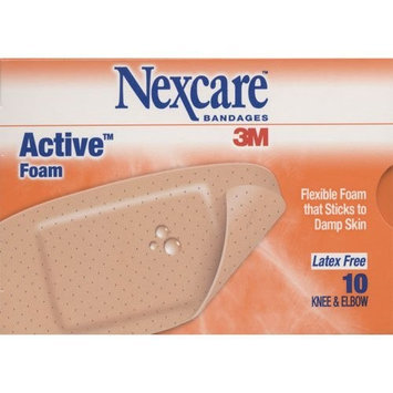 Unknown Nexcare bandages 3M Active foam Knee and Elbow 10 Strips (Pack of 2)