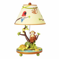 Guidecraft Jungle Party Tabletop Lamp, Multi, 1 ea
