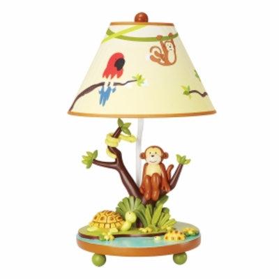 Guidecraft Jungle Party Tabletop Lamp, Multi, 1 ea