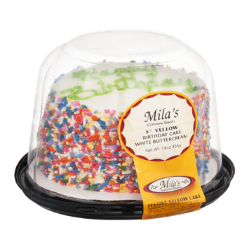 Mila's Birthday Cake White Buttercream 5