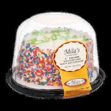 Mila's Birthday Cake White Buttercream 5