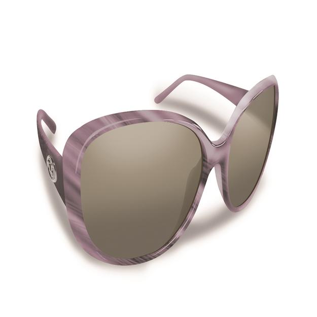 Spotters Inc. Flying Fisherman Sanibel Mauve w/Smoke Sunglasses