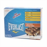 Everlast Peanut Butter Chocolate Crunch Energy Bar, 6-Count (Pack of 6)