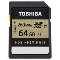 Toshiba 64GB Exceria™ Pro SD Memory Cards (UHS-II U3)