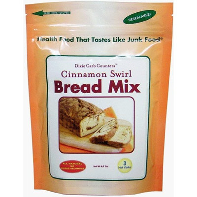Dixie Carb Counters Cinnamon Swirl Dessert Bread Mixes