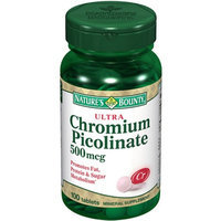 Nature's Bounty Ultra Chromium Picolinate 500 mcg