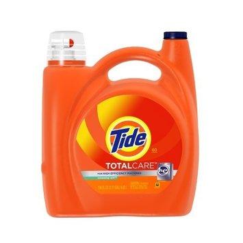 Tide Total Care He Renewing Rain Scent Liquid Laundry Detergent 150 Fl Oz (Pack of 4)