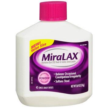 Miralax MiraLAX Laxative Powder - 26.9 oz