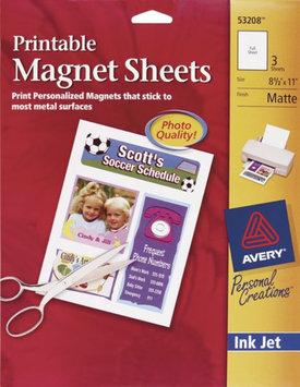 Avery Dennison 53208 Ink Jet Magnet Sheets