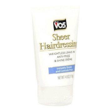 Alberto VO5® Sheer Hairdressing, Anti-Frizz