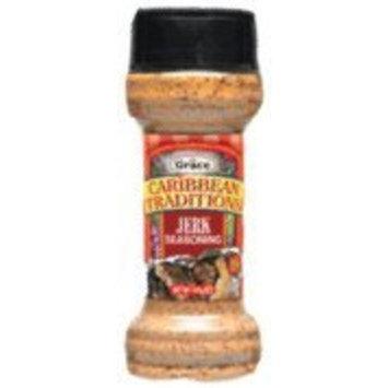Grace Caribbean Traditions Jerk Seasoning, 4.97 oz