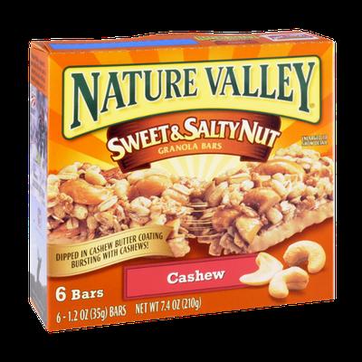 Nature Valley Sweet & Salty Nut Granola Bars Cashew