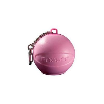 Baggee Plastic Bag Holder Keyring - Pink