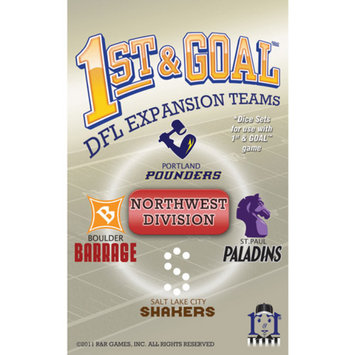 R and R Games 1st & Goal Expansion #5 - Northwest Division, 1 ea