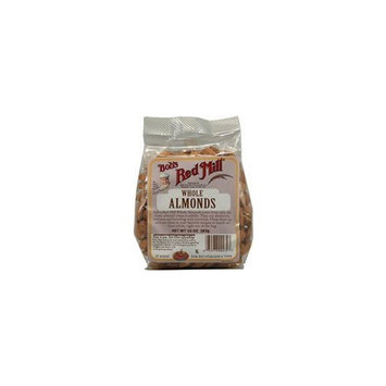 Bob's Red Mill Whole Almonds, 10 oz (283 g)