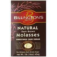 Billington's Unrefined Sugars Billington's Natural Dark Brown Molasses Sugar, 16-Ounce Bags (Pack of 10)