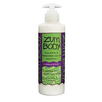 Indigo Wild Zum Body Lotion, Rosemary-Mint, 8 Fluid Ounce