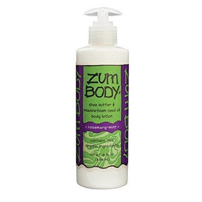 Indigo Wild Zum Body Lotion, Rosemary-Mint, 8 Fluid Ounce