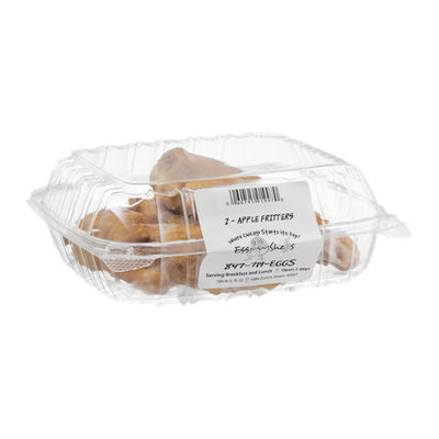 Egg Shells Apple Fritters - 2 CT